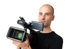 Cameraman Royalty Free Stock Photos