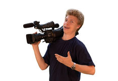 Cameraman Stock Photos