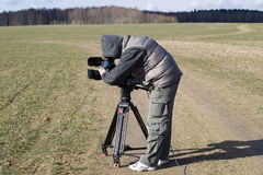 Cameraman 2 Royalty Free Stock Photo