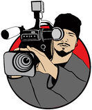 Cameraman libre illustration