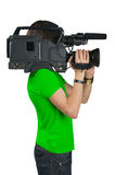 Cameraman. Stock Image