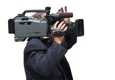 Cameraman Photo libre de droits