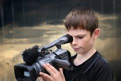 cameraman Photographie stock libre de droits
