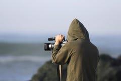 Cameraman imagen de archivo