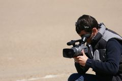 Cameraman Royalty Free Stock Photo
