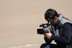 Cameraman foto de archivo libre de regalías