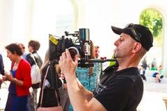 cameraman Imagem de Stock