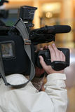 Cameraman Imagen de archivo libre de regalías
