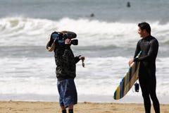 Cameraman Photos libres de droits