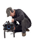 Cameraman Royalty Free Stock Image