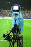 cameramanstadion arkivbilder