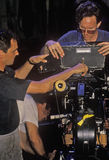 Cameramen working on set of 'Temptation' Stock Photos