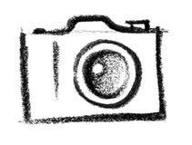 Camerapictogram Stock Afbeelding