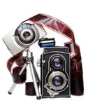 Cameras... Royalty Free Stock Images