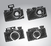 Cameras design Royalty Free Stock Image