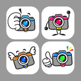 Cameras Mascot Stock Photos
