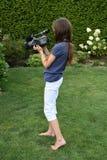 camerawoman immagini stock