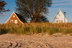 Camere alla spiaggia Immagini Stock Libere da Diritti