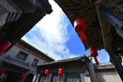 Camere cinesi antiche Immagine Stock