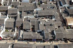 Camere in città cinese immagini stock