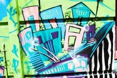 Camere Colourful di Valparaiso fotografia stock