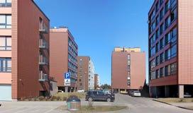 Camere con gli appartamenti di piccole dimensioni f di basso costo Fotografia Stock Libera da Diritti