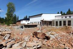 Camere in costruzione Immagini Stock