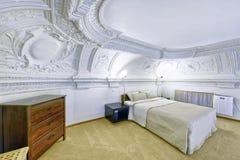 Camere da letto di interior design Immagini Stock Libere da Diritti