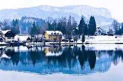 Camere dal lago sanguinato Fotografie Stock Libere da Diritti