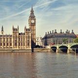 Camere del Parlamento, Londra. Fotografia Stock Libera da Diritti
