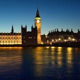 Camere del Parlamento, Londra Fotografia Stock Libera da Diritti