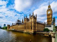 Camere del Parlamento Londra Immagine Stock