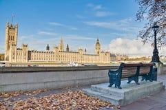 Camere del Parlamento a Londra, Inghilterra Immagini Stock Libere da Diritti