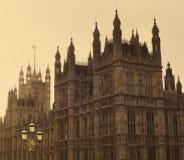 Camere del Parlamento Londra, Inghilterra Fotografia Stock Libera da Diritti