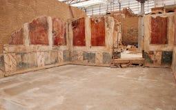 Camere del terrazzo di Ephesus Fotografie Stock