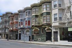 Camere del Victorian di San Francisco Immagini Stock