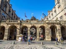 Camere della città, Edimburgo Scozia Fotografia Stock Libera da Diritti