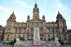 Camere della città in George Square, Glasgow, Scozia Fotografie Stock