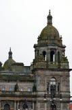 Camere della città in George Square, Glasgow, Scozia Fotografia Stock Libera da Diritti