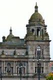 Camere della città in George Square, Glasgow, Scozia Immagini Stock