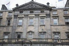Camere della città sulla via reale di miglio; Edimburgo Fotografia Stock