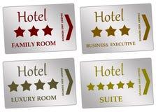 Camere di albergo Fotografie Stock