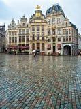 Camere di Grand Place famoso immagini stock libere da diritti