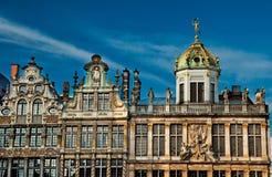 Camere di Grand Place famoso immagini stock