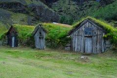 Camere di Nupstadur, Islanda Fotografia Stock