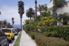 Camere di spiaggia di California del sud Fotografia Stock
