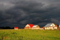 Camere e nubi Immagine Stock Libera da Diritti