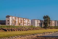 Camere e rovine a Merida Fotografie Stock