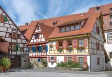 Camere Half-timbered Fotografia Stock Libera da Diritti