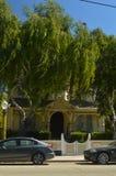 Camere meravigliose nello stile di selvaggi West in Los Alamos Architettura di feste di viaggio Immagini Stock Libere da Diritti